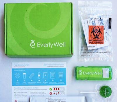 Everlywell food sensitivity test kit
