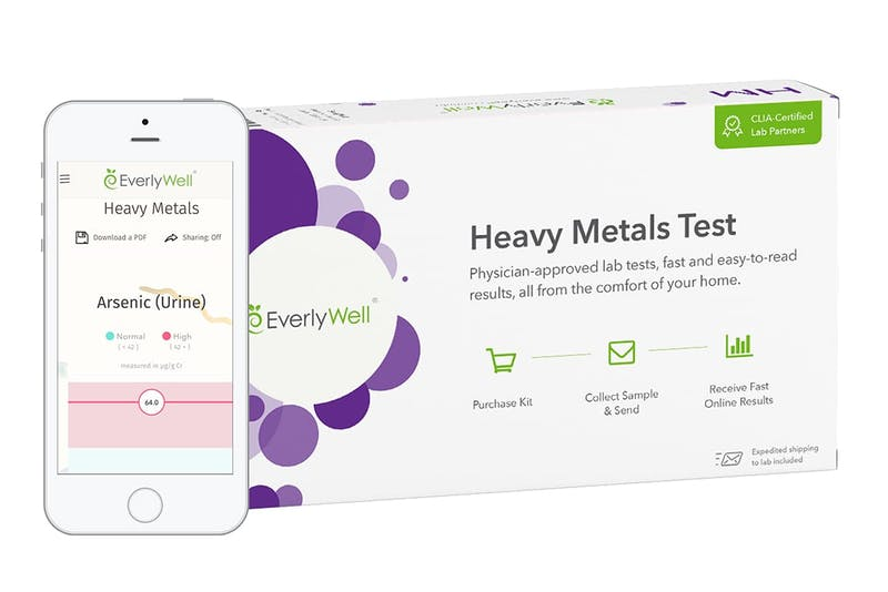 Everlywell Heavy Metals Test