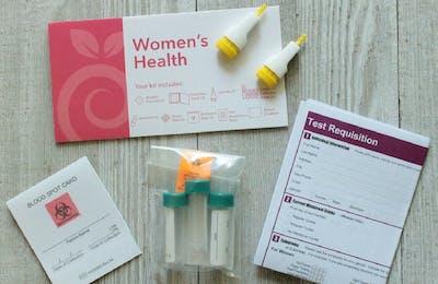 Everlywell women's health test kit